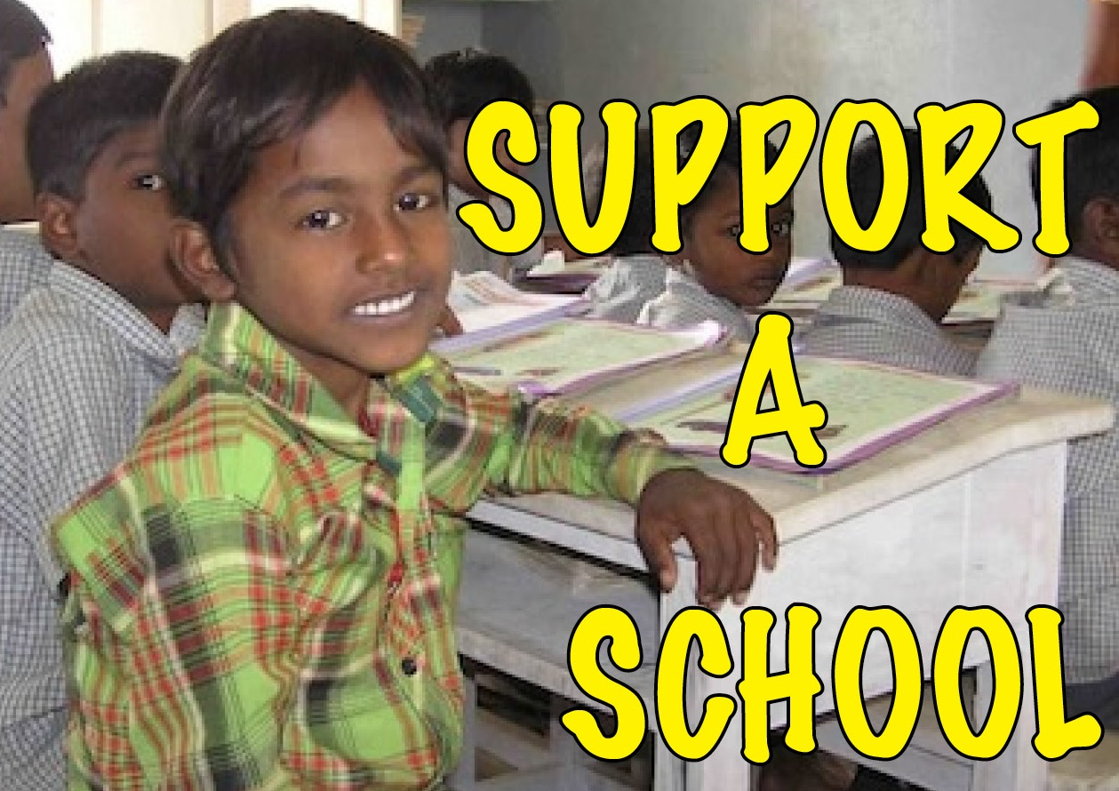 support a school